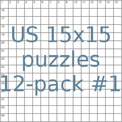 us 15x15 crossword-puzzles 12-pack no.1