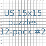 US 15x15 puzzles 12-pack no.2
