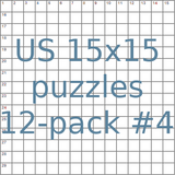 American 15x15 puzzles 12-pack no.4