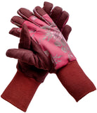 GardenGirl Gloves Winter Classic Cherry
