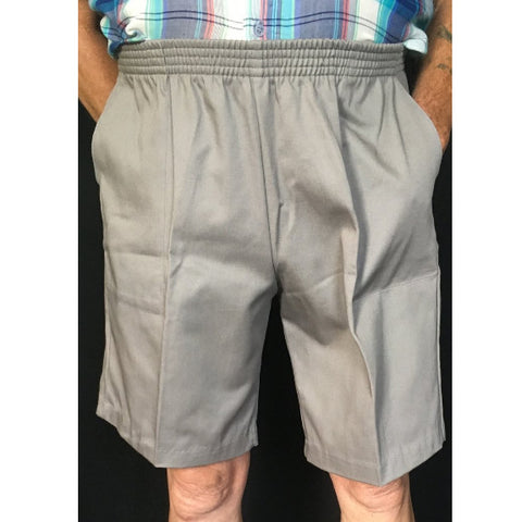 Men's Full Elastic Waist Pull on Shorts