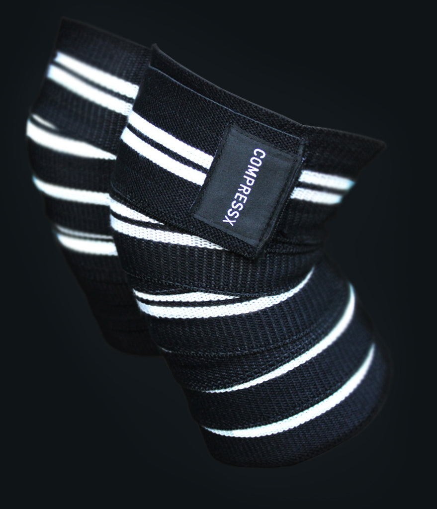 COMPRESSX Knee Wraps