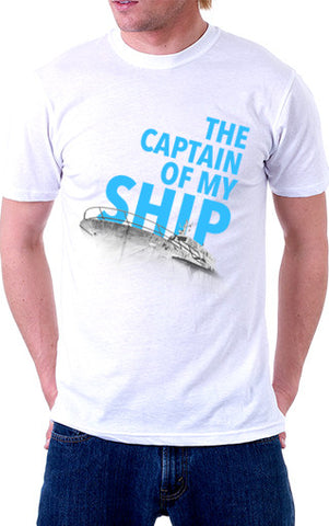 Captain of My Ship Unisex T-Shirt