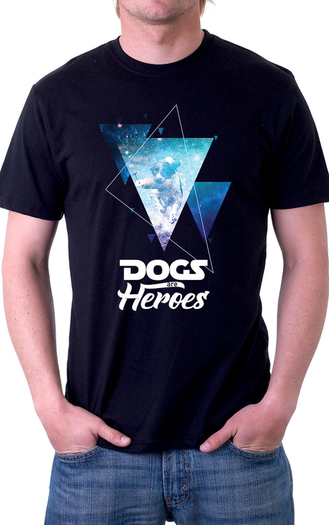 Dogs Are Heroes Unisex T-Shirt