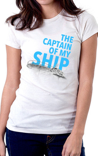Captain of My Ship Women's Fit T-Shirt