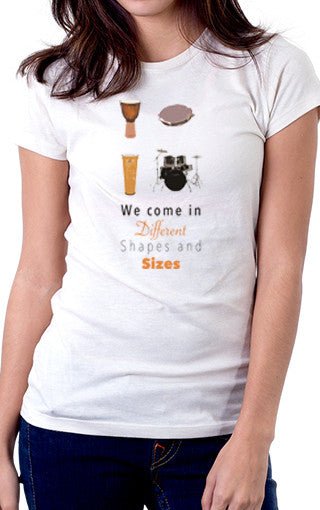 Different Shapes Women's Fit T-Shirt