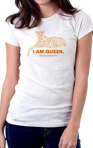 I Am Queen Women's Fit T-Shirt