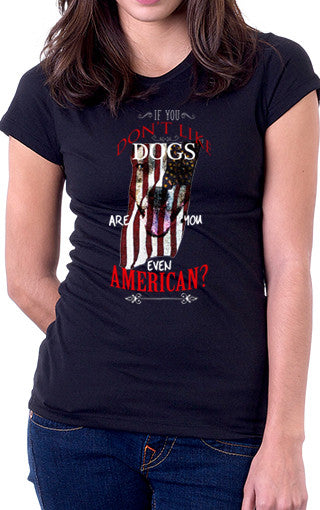Dogs And America Women's Fit T-Shirt