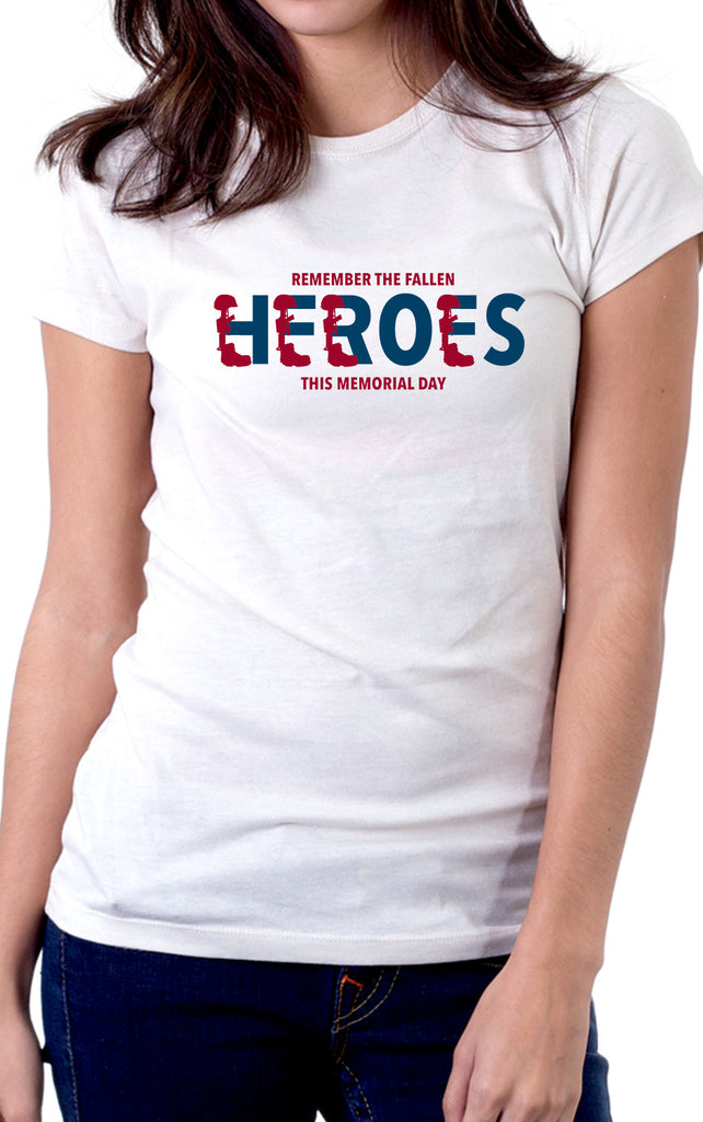 Remember The Heroes Women's Fit Tshirt