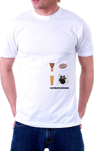 Drums: Ultimate Sound Official Unisex T-Shirt