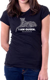 Negative I Am Queen Women's Fit T-Shirt