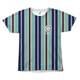 Striped Target All Over Tees