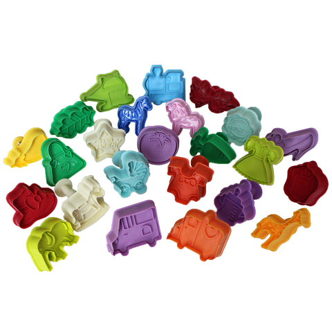 28 Piece Cookie Cutter Plungers