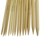 16 Piece Bamboo Circle Knitting Needles