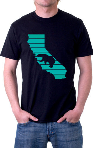 California Republic Black Bear Unisex Shirt