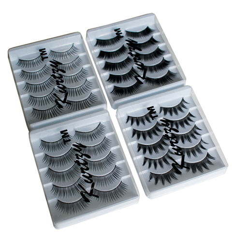20 Pairs of Strip Eyelashes
