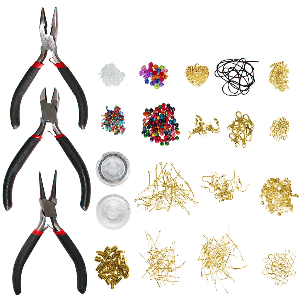 Gold Plated Jewellery Making Kit