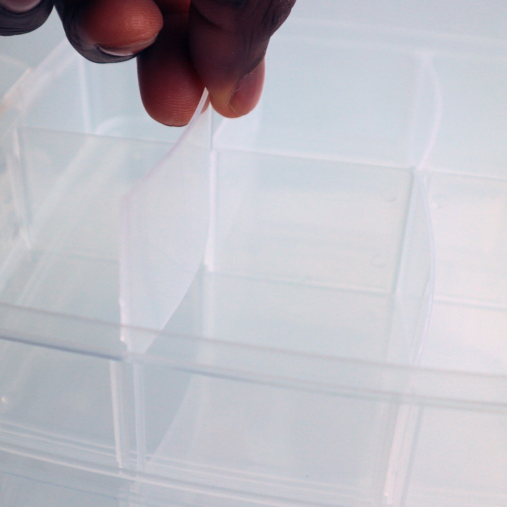 ... 3 Tier Clear Plastic Storage Box ... : 3 tier plastic storage boxes  - Aquiesqueretaro.Com