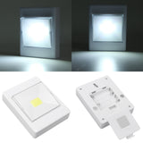 Kurtzy 4 Pack of Led Light Switch - Wireless Battery Operated COB Led Light - Cordless Led Light for Hallways, Bedrooms, Night Reading - Smart Bright Led Switch - Mini Portable Light Switches
