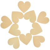 Blank Wooden Heart Decor