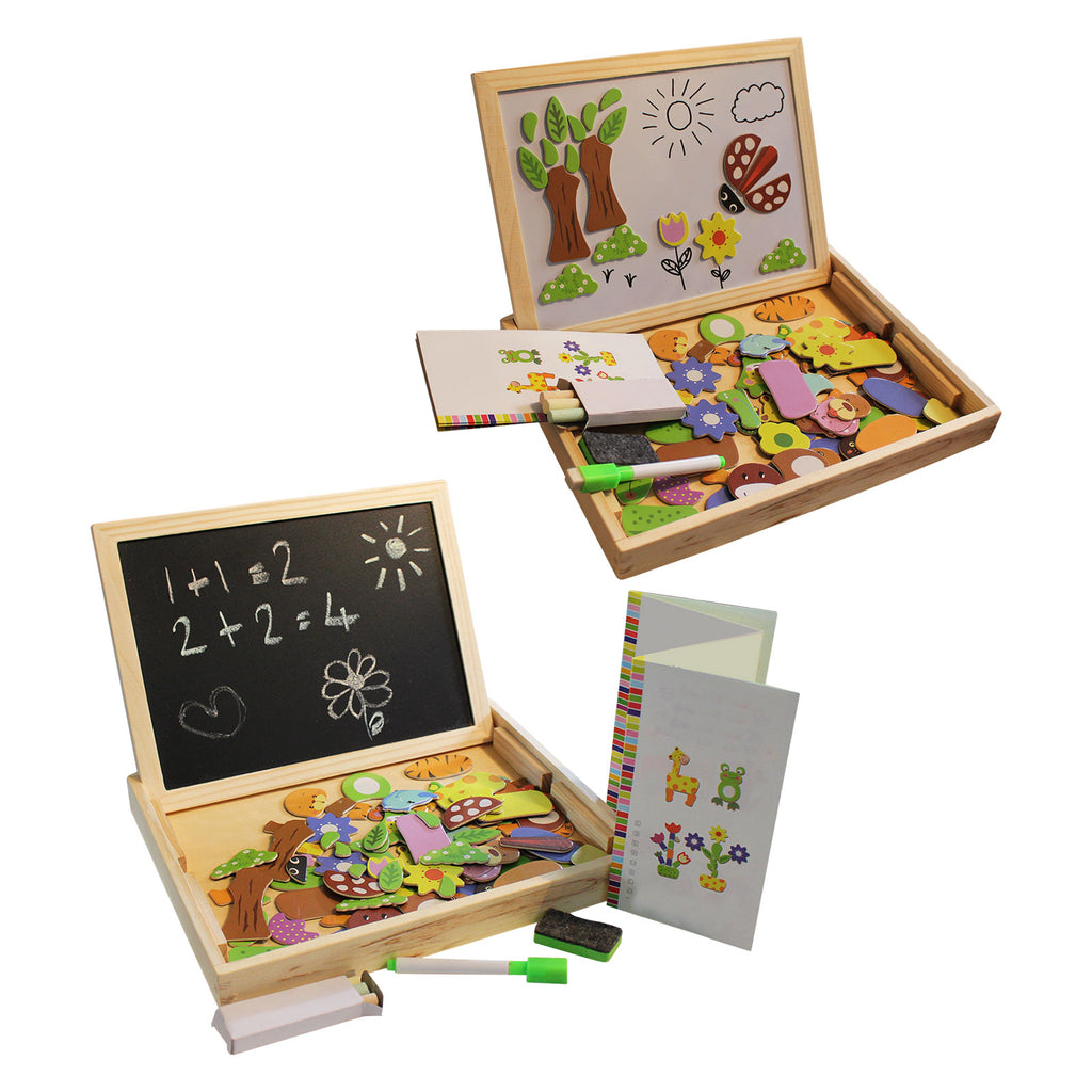 easel board for jigsaw puzzles