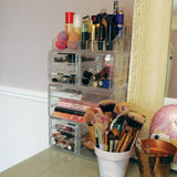 Large Clear Acrylic Cosmetic Organiser