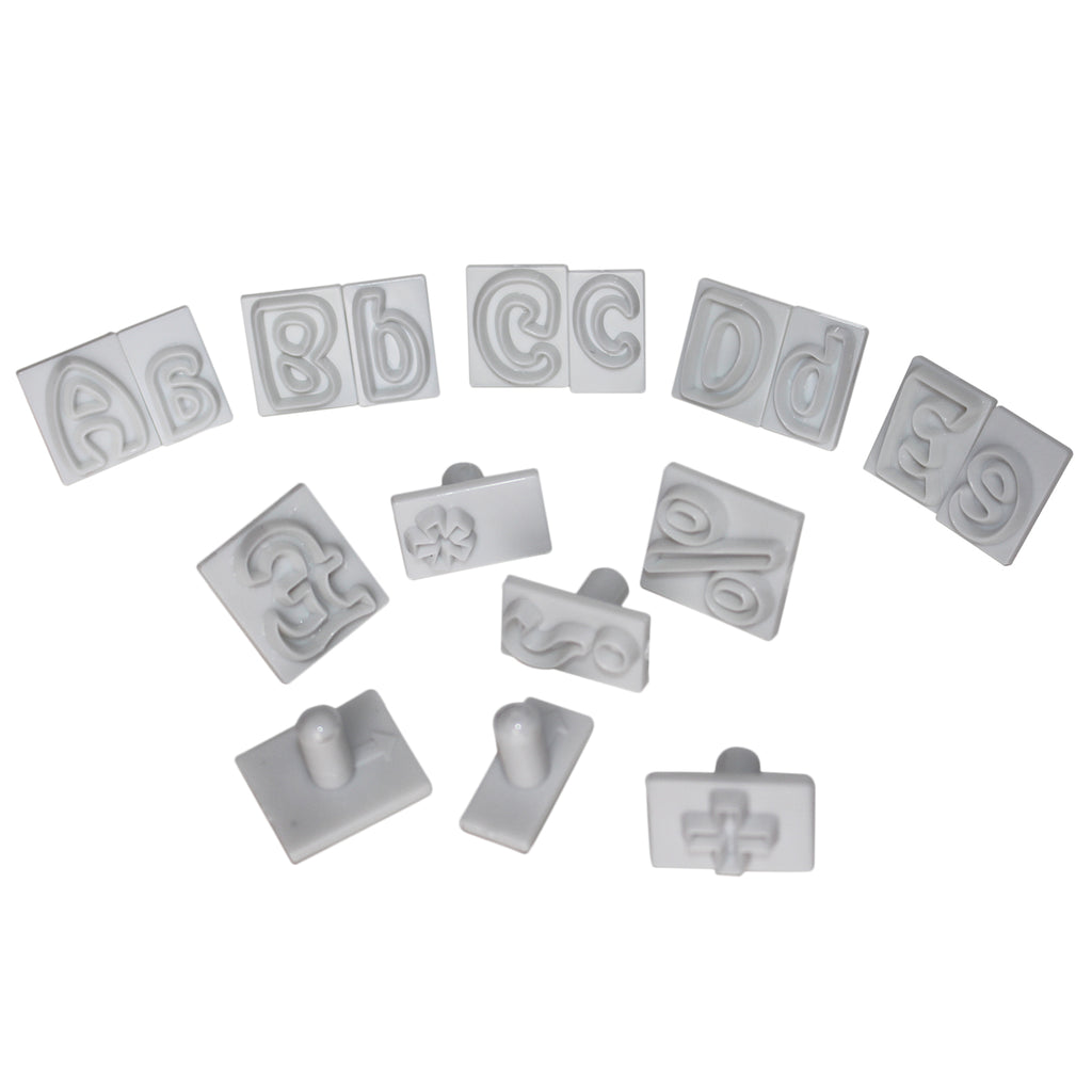 Alphabet Icing Stamps