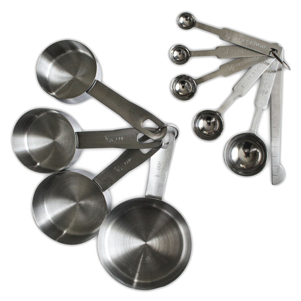 10 Piece Measuring Cups & Measuring Spoons Set