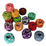 42 Pack of Stripy Thread
