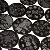 Nail Art Design Stamp Plates Kit