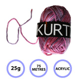 Multicolour Knitting Crochet Yarn Set