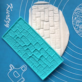 Plastic Embossed Icing Moulds Kits