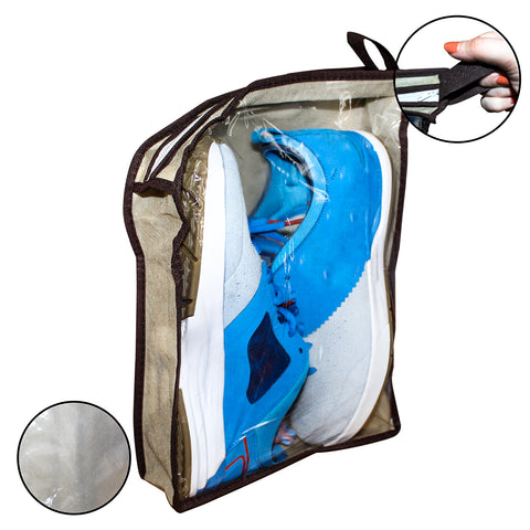 4 Non Woven Fabric Shoe Storage Bags