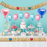 Gender Reveal Party Decoration Set