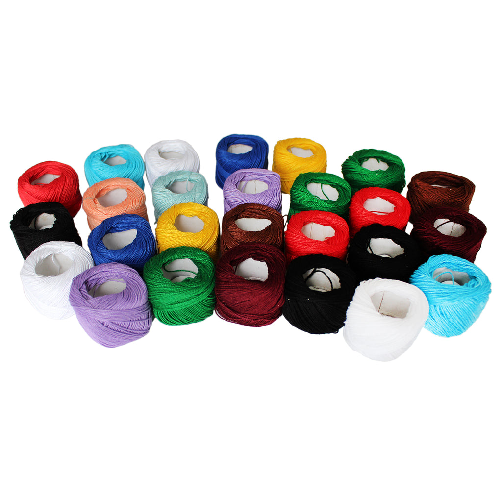 42 Pack of Colourful Thread