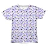 Multiplied Cupid Heart All Over Tees