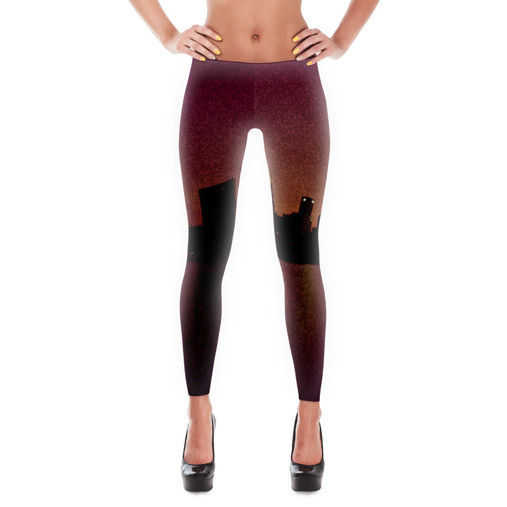 Beautiful Landscape View Leggings