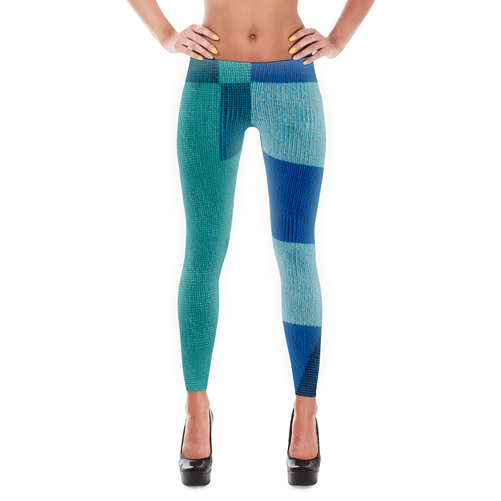 Boxed Patterned Leggings