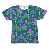 Floral Classic Design All Over Tees
