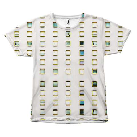 Multi Box All Over Print Tees