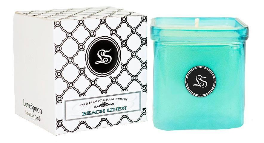 LoveSpoon Candles - Beach Linen - Best Smelling Candles