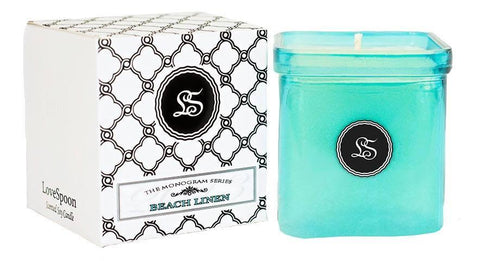 BEACH LINEN SOY CANDLE - LoveSpoon Candles