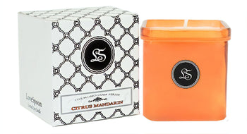 CITRUS MANDARIN SOY CANDLE - LoveSpoon Candles