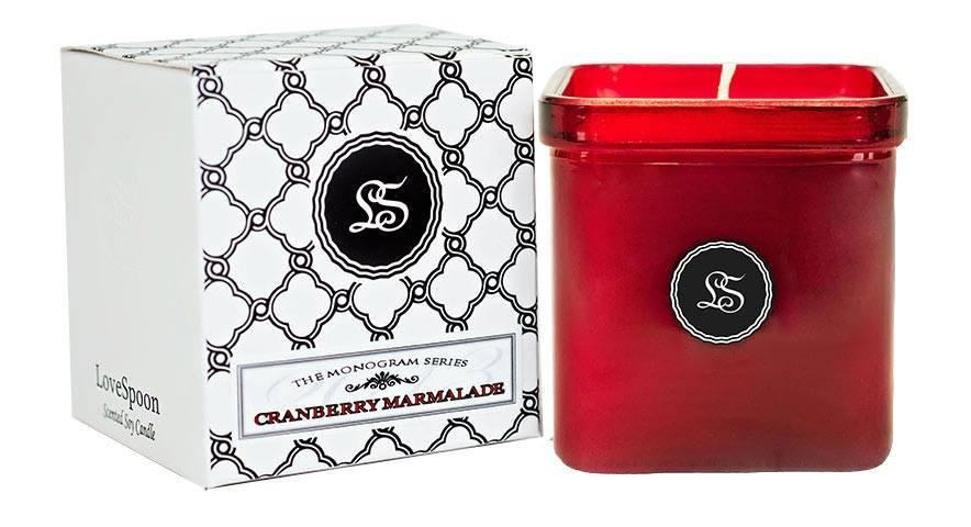 LoveSpoon Candles - Cranberry Marmalade - Best Smelling Candles