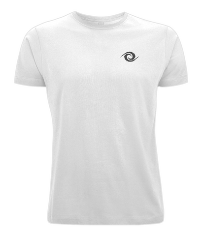 PKGen Mens T-Shirt - Precision Swirl - Black