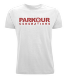 PKGen Mens T-Shirt - Brand Logo - Red