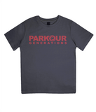 PKGen Kids T-Shirt - Brand Logo - Red