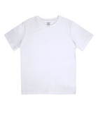 PKGen Kids T-Shirt - Precision Swirl - White