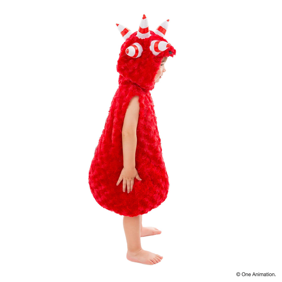 Oddbods Fuse Costume for Kids | Red, One Piece