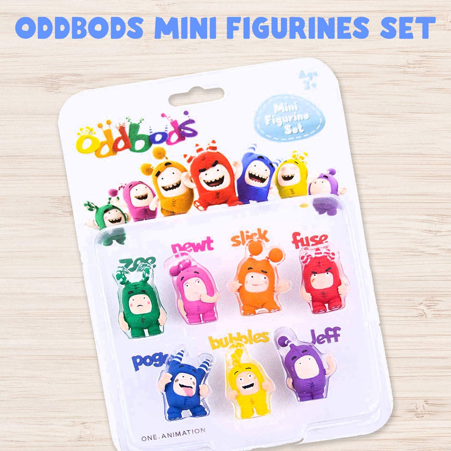 Oddbods Mini Figurines (All Characters)